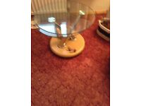 Tempered glass extendable coffee table lovely piece of furniture.