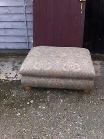 Large Footstool / Pouffe FREE !!