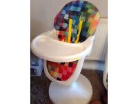 Kids high chair adjustable with recline from smoke free home £50