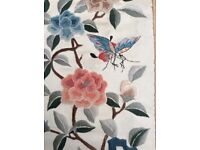 Chinese oriental embroidery silk picture