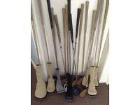 ladies golden bear 16 piece set of golf clubs