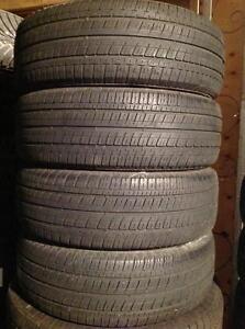 4 pneus 225/65 r17 d'été bridgestone dueler h/t.   235$