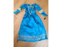 Brave fancy dress costume girls age 3-4