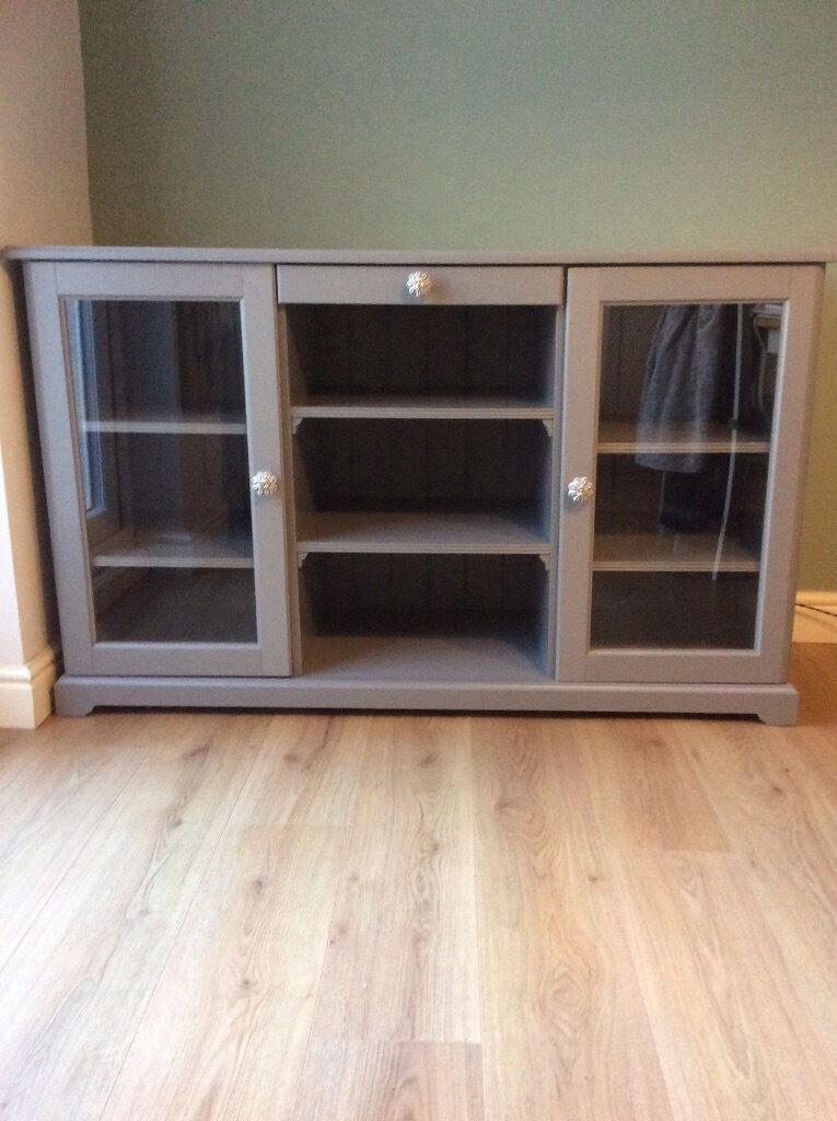 Grey Ikea Liatorp Sideboard In Harborne West Midlands