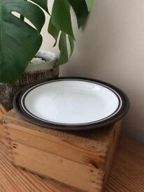 Beautiful vintage early 1980's Hornsea Contrast salad plate