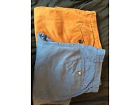 Two pairs of Men's trousers 32 waist and 32 leg.