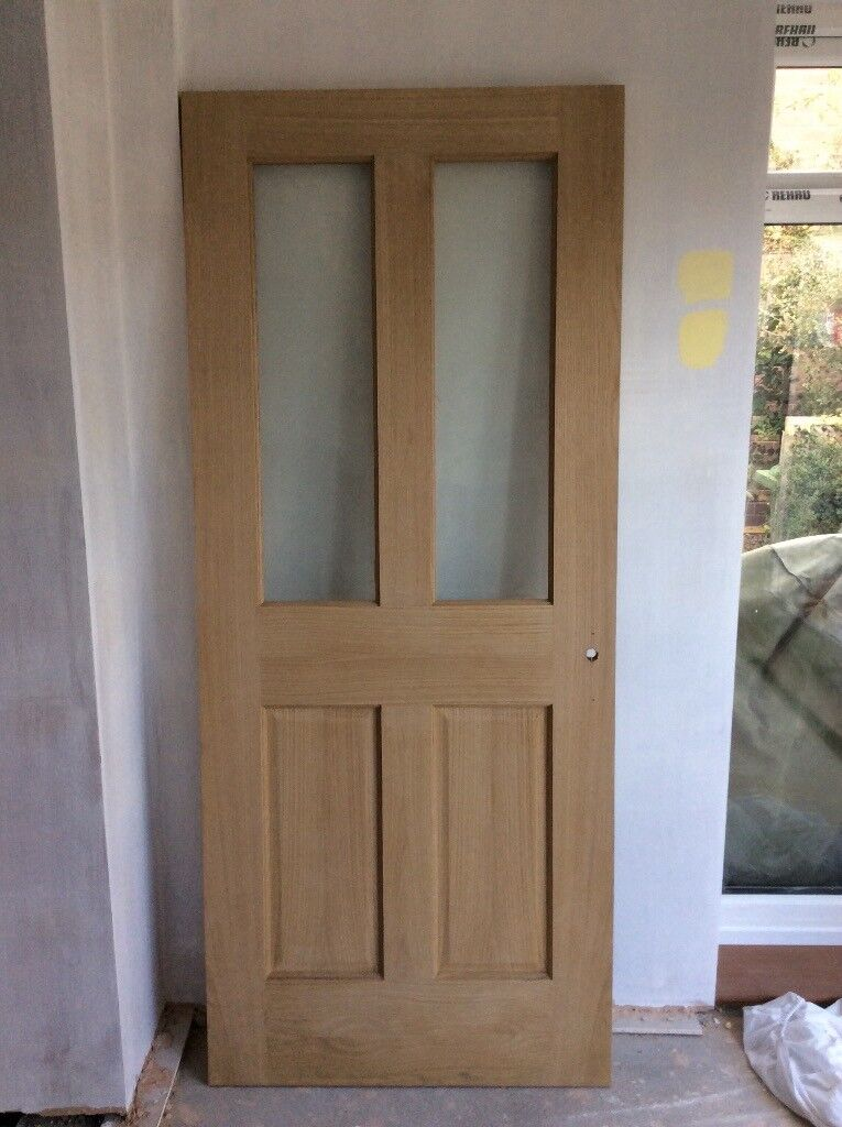 Oak veneer internal door with glass panels wickes cobham in oak veneer internal door with glass panels wickes cobham planetlyrics Gallery