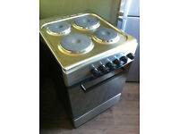 NEWWORLD ES50S 50cm Electric Freestanding Cooker - Silver