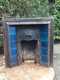 Cast Iron Fireplaces (Two)