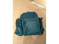 Green picnic rucksack