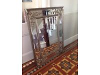 Silver Antique Chabby Chic Mirror