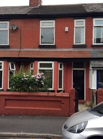 BEAUTIFUL 4 BED HOUSE TO LET LEVENSHULME PRIVATE LANDLORD NO AGENCY FEES