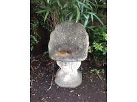 Garden Stone / concrete chair