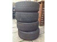 Winter Tyres - 4 Bridgestone Blizzak Run Flats