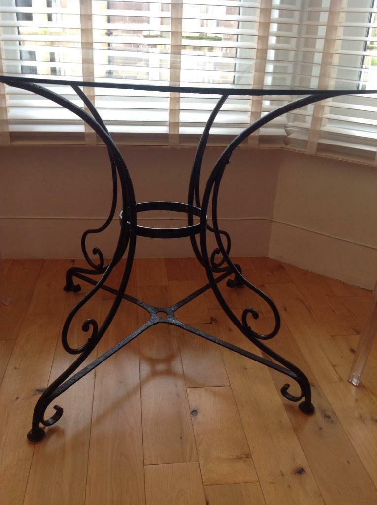 Victorian cast iron table ,chairs & candelabra | in Maryhill