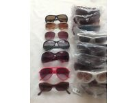 Sun glasses 40 pairs Men/women, New.