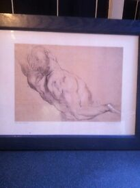 Peter Paul Rubin print of the naked torso