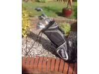 Ping Golf Bag and set of clubs - right handed