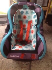 COSATTO 9-18KG EXCELLENT CONDITION HARDLY USED