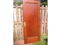 1930's Bungalow Internal Wooden Doors - Varnished x 8