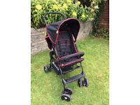 Black Hauck pushchair