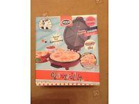 Quesadilla Maker 1950's Retro Style Maker Brand New in Box