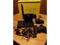 Sony Playstation 2 boxed with games