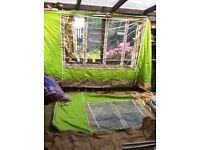 2berth caravan awning