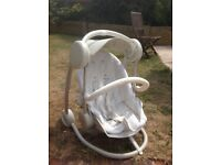 Mamas and Papas star lite swingchair £89 new