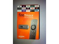 Amazon Fire TV Stick HD Media Streamer with Voice Remote BRAND NEW
