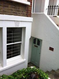 Herne Hill/Brixton Poets corner. Refurbished 1 bed flat with courtyard garden.