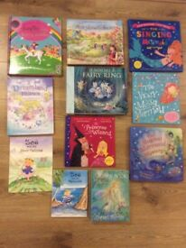 Children's Book Bundle - Fairies, Princess & Mermaids - 11 Books - All in lovely condition.