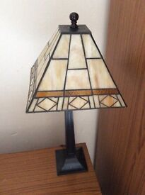 Mid sized glass shade lamp (moving don't need)