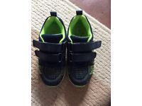 Child's trainers, size 9, hardly worn