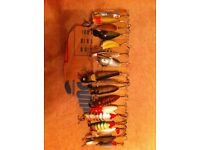 Pike Fishing plugs and spoons