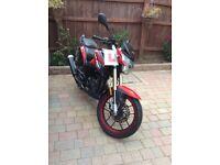 Lexmoto ZSX-R motorbike 125cc