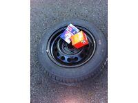 Micra tyre, plugs & filter