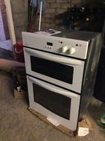 New World double oven and grill