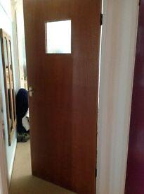 Wooden internal door