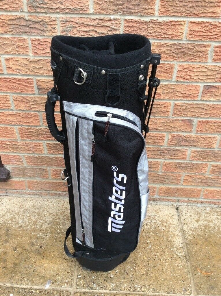 Masters Lightweight Golf Bag with stand