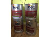 dulux trade weathershield white paint