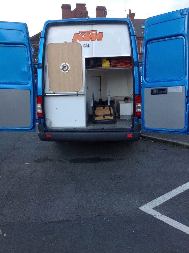 Sprinter Van Bathroom Kit: Mercedes Sprinter Camper Van Three Berth Kitchen,toilet