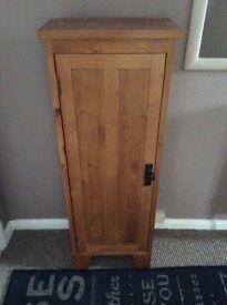 Wood CD cabinet