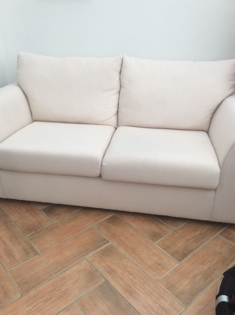Cream Fabric Sofa From John Lewis In Southwell Nottinghamshire