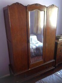 Vintage Bedroom Wardrobe