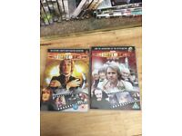 45 doctor who dvds from the doctor who files collection.