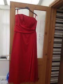 Red Debut dress