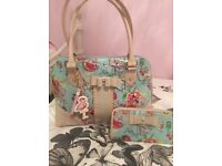 FLOOZIE BY FRENCH FROST BAG WITH MATCHING PURSE