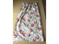 Laura Ashley Gosford Cranberry curtains