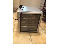 Used counter wine/beer/can drink chiller fridge